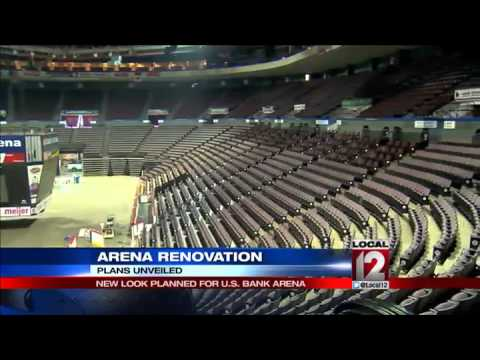 New look planned for U.S. Bank Arena