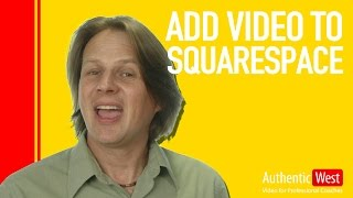 Add video to Squarespace