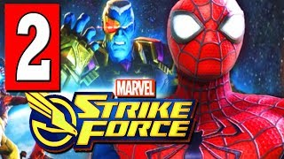 MARVEL STRIKE FORCE Gameplay Walkthrough Part 2 Lets Play CHAPTER 3 HEROES ASSEMBLE