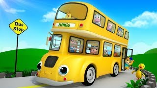 Wheels on the Bus  More Nursery Rhymes  Children Songs  Cartoons by Farmees