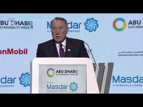 WFES 2017   Nursultan Nazarbayev, President of Kazakhstan, opening keynote