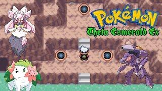 Caza de legendarios #1 Shaymin, Diancie y Genesect Pokemon Theta Esmeralda