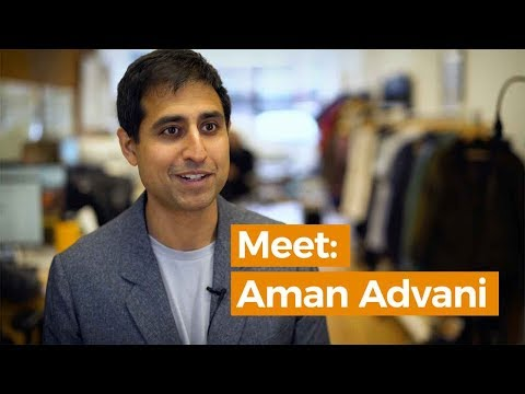 Meet Aman Advani, Ministry Of Supply