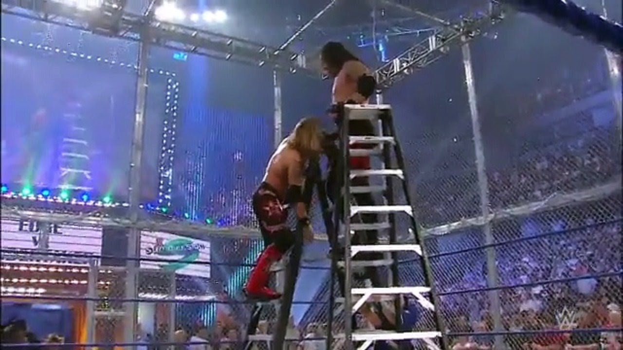 Undertaker vs Edge HELL IN A CELL WWE Summerslam 2008 UNDERTAKERS GRAVEST  MATCHES - YouTube