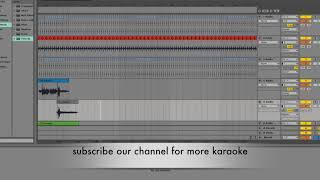 Clean Karaoke chaubandi ma patuki with lyrics