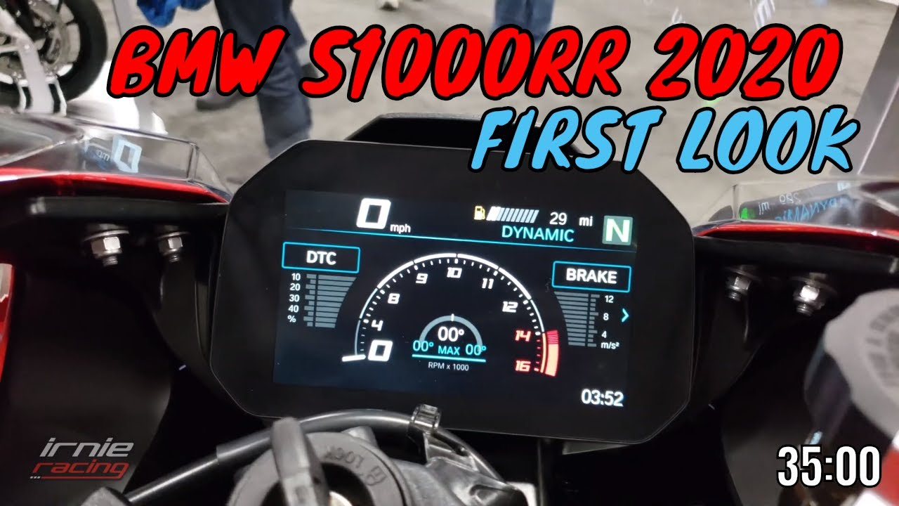 Bmw S1000rr 2019 2020 First Racer Look Irnieracing4k Youtube