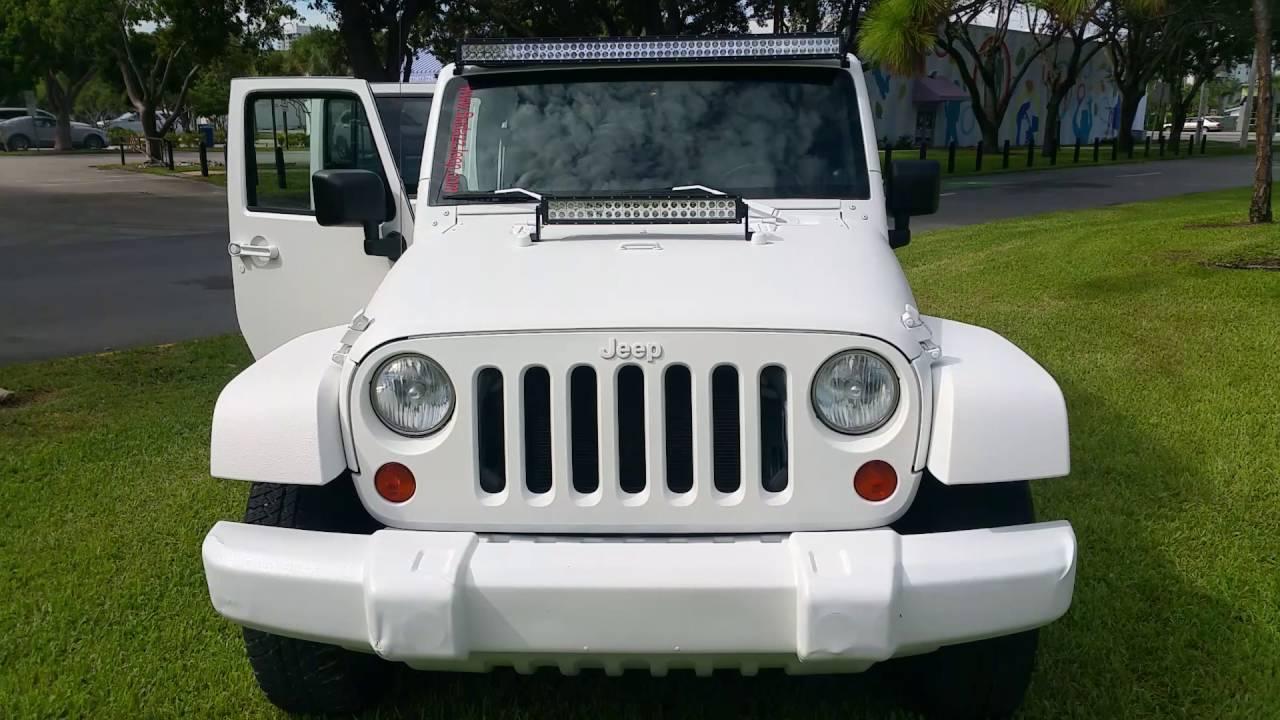 2008 Jeep Wrangler Mat White Rhino Paint Job Youtube