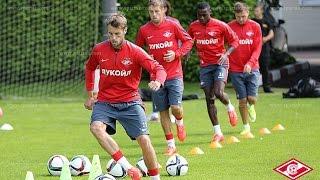 «Спартак» готовится к игре с «Краснодаром»
