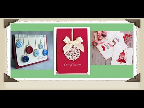 DIY - Hướng Dẫn Cách Làm Thiệp Noel Đơn Giản