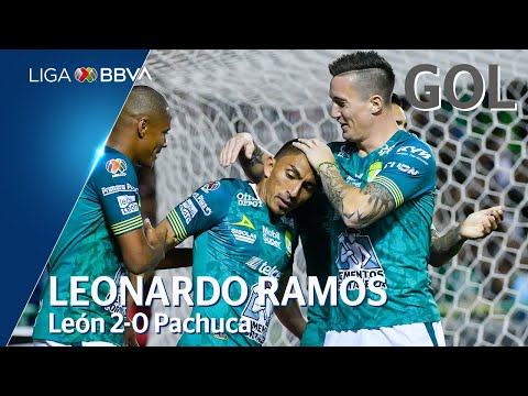 León [2] - 0 Pachuca (L. Ramos 20')