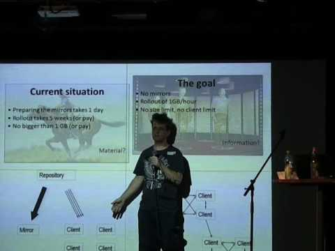 Markus Kramer: BitTorrent Peer-to-peer controlled by Salt