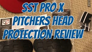 SST Baseball Pitchers Head Protection Review Pro X & Prospect