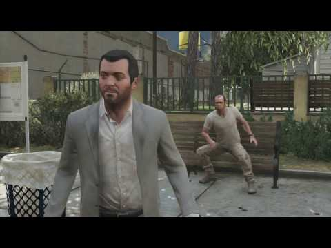 GTA 5 Blaine County Bank Stakeout Mission