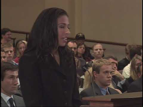 Ames Moot Court Finals: Fall 2006
