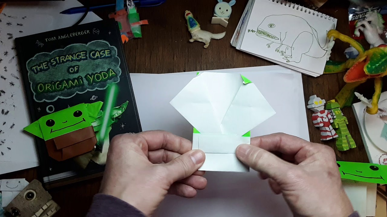 The Strange Case Of Origami Yoda By Tom Angleberger - Lessons ... | 720x1280