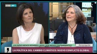 Carolina Vera, del CONICET: Cambio climático y política, el nuevo conflicto global