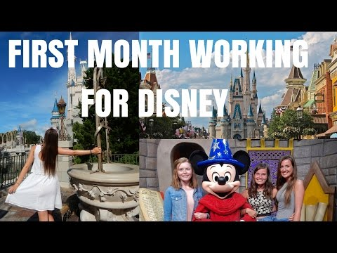 FIRST MONTH WORKING AT WALT DISNEY WORLD | Disney ICP 2016 (Disney Cultural Exchange Progrm 2016)