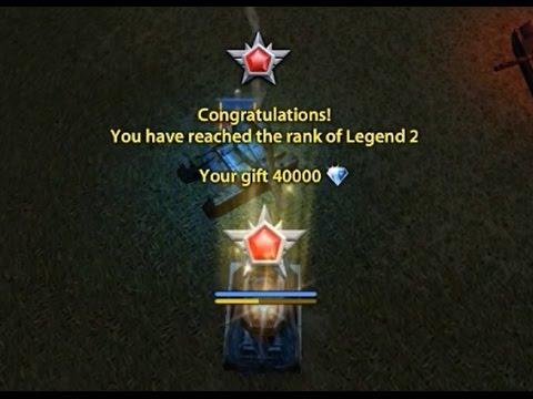 Tanki Online Rank up LEGEND 2 + Video gold box 28