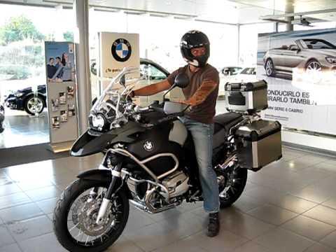 BMW R1200 GS ADVENTURE 1STE START!