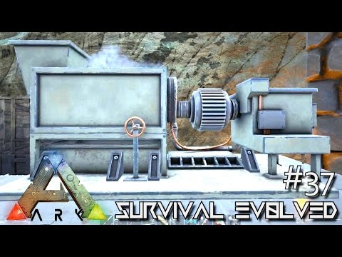 ARK: Survival Evolved - NEW INDUSTRIAL GRINDER & FISHING !!! - SEASON 4 [S4 E37] (ARK Gameplay)