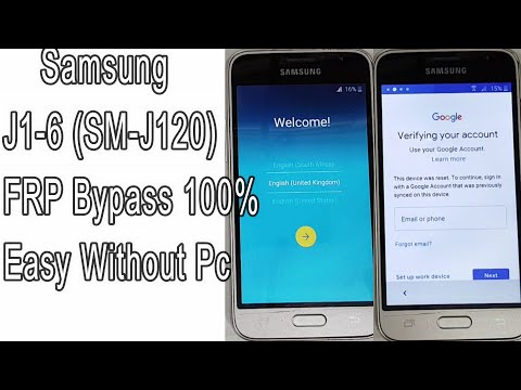 FRP Bypass Samsung J1 2016 (SM-J120) Remove Google Account Lock 100% Easy Without Pc