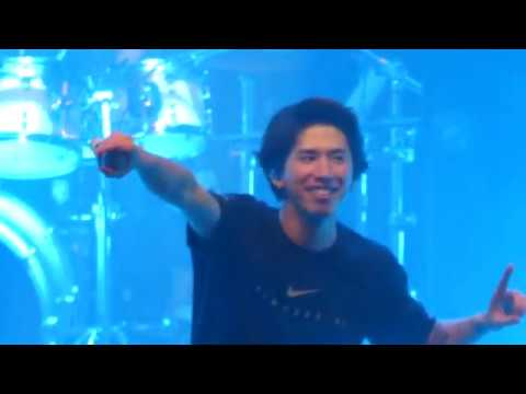 ONE OK ROCK - The Beginning / Jaded / Mighty Long Fall - live in Zurich @ Komplex 457 01.12