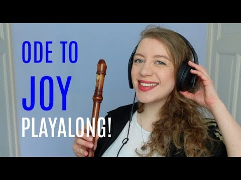 ODE TO JOY by Beethoven Easy Playalong | Team Recorder BASICS