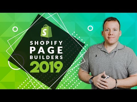 Top Shopify Landing Page Builders for 2019