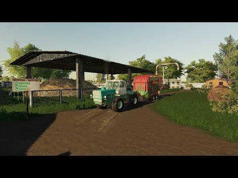 Первая серия Farming Simulator 19 карта Бухалово
