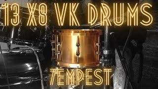 Danny Carey Signature Snare Drum 13x8 7empest    The New Shining - One by One [Drum playthrough]