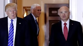 Andrew Puzder drops out as Trump's labor secretary