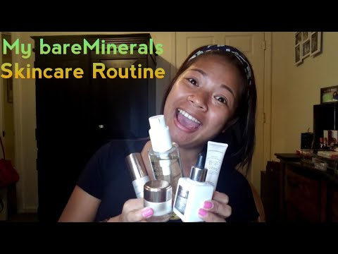 My Skincare Routine using Bare Minerals Products!