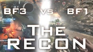 BF3 VS BF1 - THE RECON - A BATTLEFIELD 3 MONTAGE