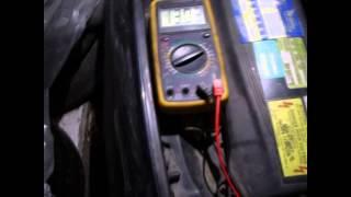как проверить генератор. какое напряжение выдаёт генератор