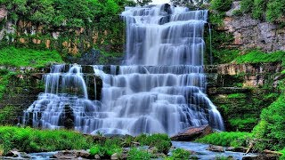 Relaxing The Most Beautiful Waterfall Nature, Nature Waterfall Wallpaper, Desktop Nature Wallpaper