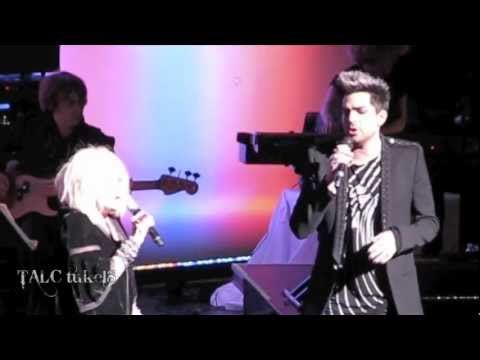 Mad World Adam Lambert and Cyndi Lauper Home For The Holidays Show Dec 8, 2012
