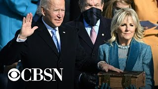 A look back at Biden's road to the White House
