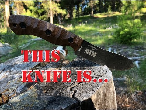 Esee JG5 Knife Test and Review