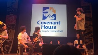 kian and jc stand up for covenant house