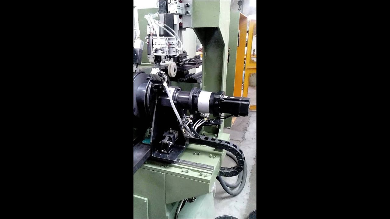 wire reel - welding wire production line - YouTube