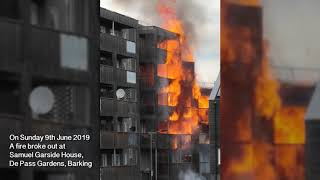 Barking Riverside Fire