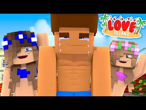 Minecraft -THE GIRLS VOTE DONNY OFF LOVE ISLAND!! w/ LITTLE KELLY & LITTLE CARLY