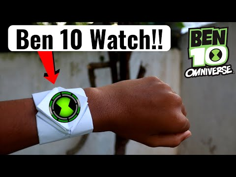 How to make a Ben 10 Omnitrix - Origami at Home   Unlimited