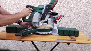 Test de la scie à onglet PCM 8 SD de BOSCH