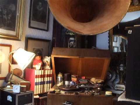 """""""La Plage au Manhattan"""" (Sousa) Orchestre Neapolitain D'Elysee Palace Hotel (Fibre)C 1903 Zono 12177"""