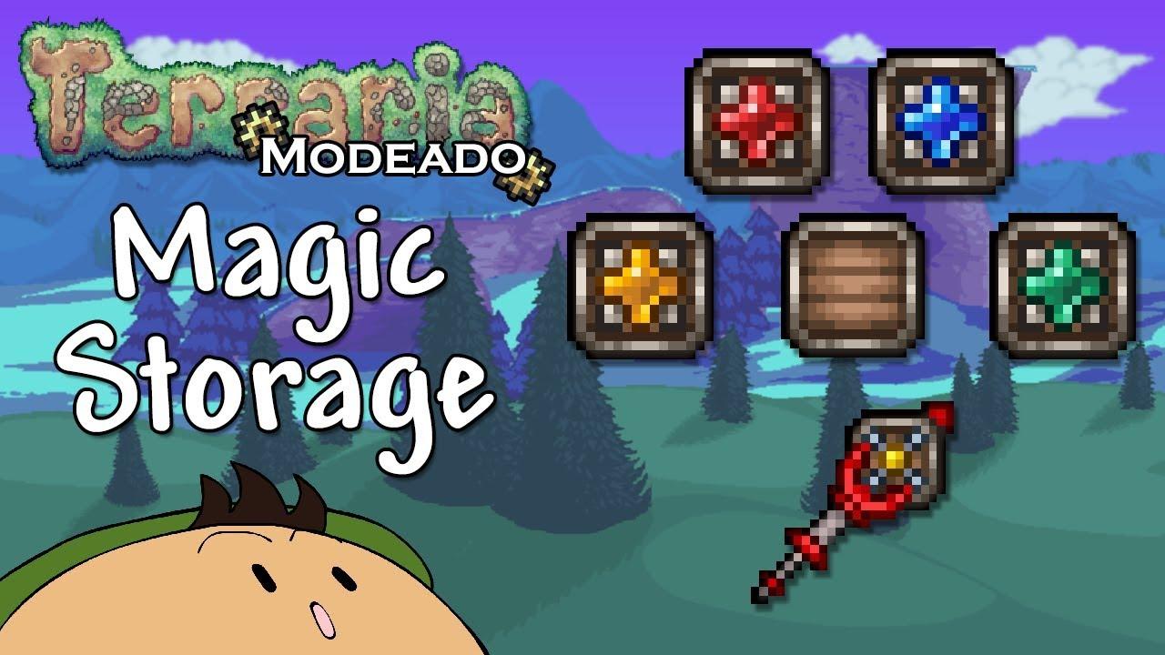 [Terraria] Magic Storage: Exponiendo y explicando todos los objetos del Mod