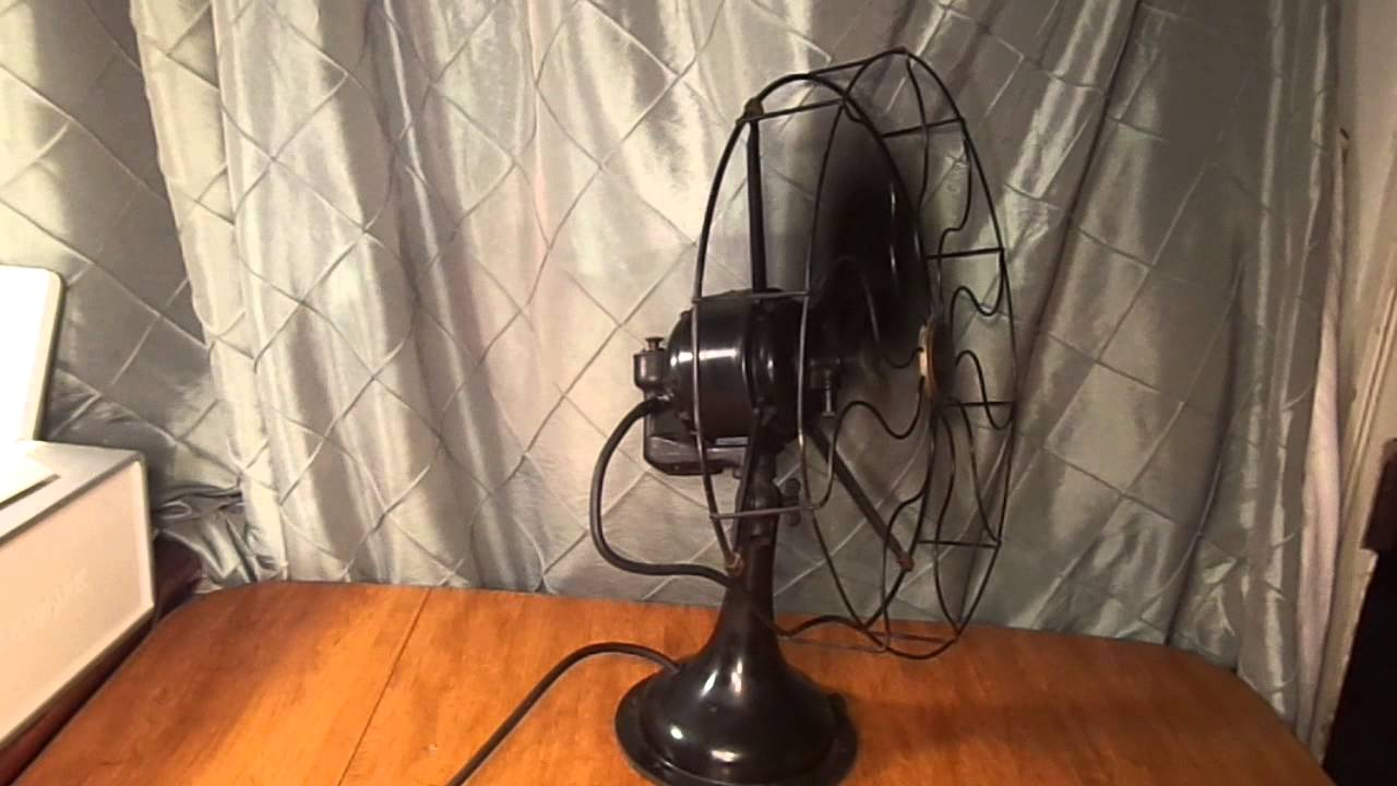 maxresdefault antique westinghouse oscillating 3 speed fan 1920's youtube Simple Wiring Diagrams at panicattacktreatment.co