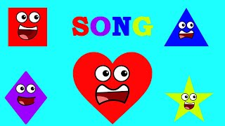 LEARN SHAPES FOR KIDS|SHAPES SONG|CARTOON SHAPES|KIDS LEARNING VIDEO|TOYS FOR KIDS|KIDS PLAY SHOW