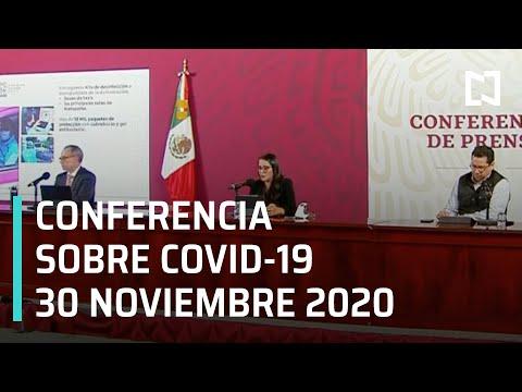 Conferencia Covid-19 en México - 30 de Noviembre 2020