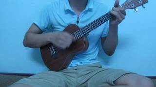EYES, NOSE, LIPS  (Mắt Mũi Môi) ukulele cover by NDM
